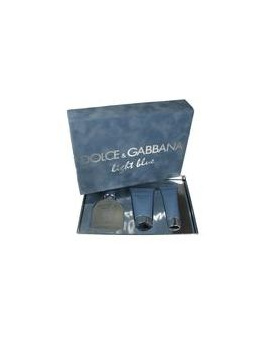 Dolce & Gabbana Light Blue Pour Homme, Edt 125 ml + 75ml balsam po holeni + 50ml Tusfürdő