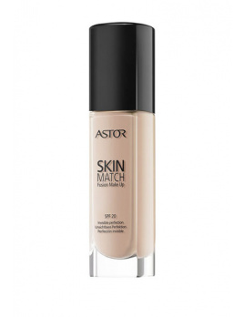 Astor Skin Match Fusion Make Up SPF20, Alapozó - 30ml