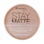 Rimmel London Stay Matte Long Lasting Pressed Powder, Alapozó - 14g