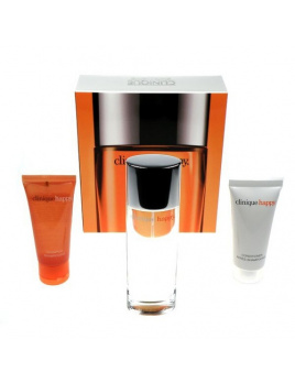 Clinique Happy, Edp 100ml + 40ml šampón + 40ml kondicioner