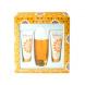 Elizabeth Arden Sunflowers, Edt 100ml + 100ml Testápoló tej + 100ml tělový čistící cream